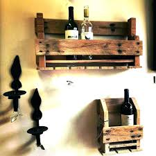 wooden wine racks plans homemade rack wood glass holder