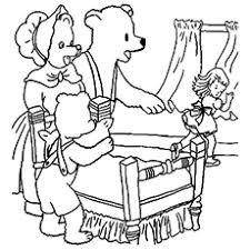 Small Picture Top 10 Free Printable Goldilocks And The Three Bears Coloring