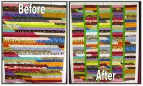 Project Pinterest: One Jelly Roll Race Quilt = Two Baby Quilts ... & source Adamdwight.com