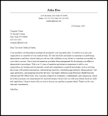 cover letters for medical assistants best cover letter for medical assistant job samplebusinessresume
