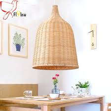 woven pendant light new hand woven pendant japan style rattan art dining room restaurant woven basket
