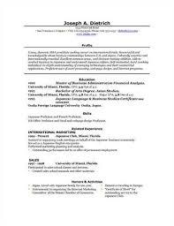Shidduch Resume