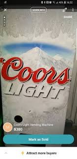 Coors Light Vending Machine Classy Coors Light Vending Machine For Sale In Henderson NV OfferUp