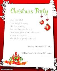 Sample Of Christmas Party Invitation Office Party Invite Template Cryptoforpak