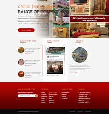 Provo Web Design Bold Serious Furniture Store Web Design For A Company By