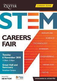 What Are Stem Careers University Of Exeter Stem Careers Fair Brochure 2018 By
