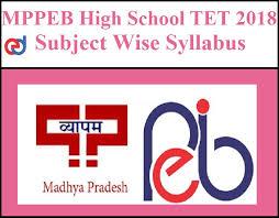 Mppeb High School Teacher Detailed Syllabus Exams Daily