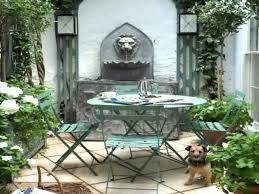 Small Picture Small Home walled garden design ideas YouTube