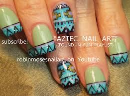 Tribal Print Nail Designs Pin By Robinmosesnailart Com On Elegant Nail Art Pictures