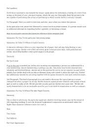 Reference Letter For Tenant Editable Rental Template From Friend 8 ...