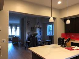 Under Cabinet Led Lighting On Opposing Sides Of The Kitchen No