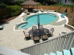 backyard salt water pool. Property Image#33 BEST Fenced Backyard: Salt Water Pool, Bocce Court, Renovated Backyard Pool
