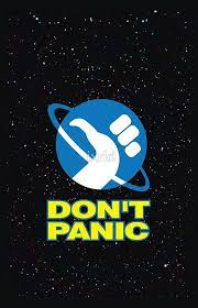 Download, share or upload your own one! Hitchhiker S Guide To The Galaxy Don T Panic By Ixrid Hitchhikers Guide To The Galaxy Guide To The Galaxy Hitchhikers Guide