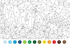 colouring pages ~ Paint By Numbers Free Color By Number Online ...