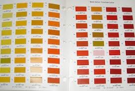 Napa Auto Paint Color Chart Paint Notes