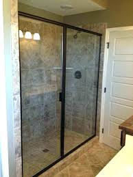 how much to install a shower door install shower door replace shower frame precision glass page