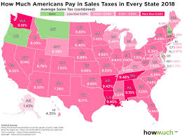 A Visual Guide To State Taxes
