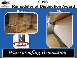 helitech waterproofing and foundation repair. Plain Repair Basement Waterproofing In St Charles Inside Helitech And Foundation Repair E