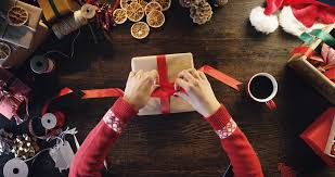 Image result for christmas wrapping presents
