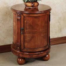 fabulous round end table with drawer best 25 end tables with storage ideas on side