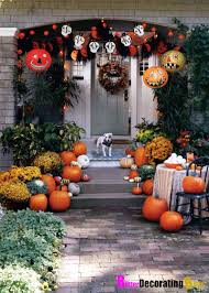 Outdoor Decorating For Fall Fall Front Porch Ideas Pumpkins