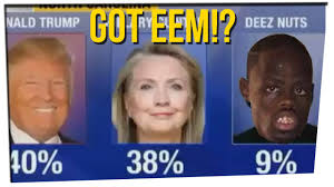 presidential candidate deez nuts wins 9 of vote