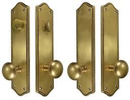 Antique Brass Front Door Knobs