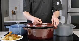 Staub Cocotte Size Chart Best 3 Enameled Cast Iron Dutch Ovens Le Creuset Vs Staub