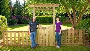 garden arbor lowes. Garden Arbor Lowes Wood Fence Gate A Luxury With And Pergola