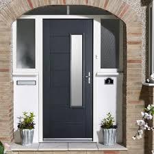 grey front doorComposite Front Doors  Front Doors