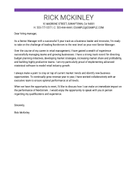 Cover Letter To Former Employer Cover Letter Templates My Perfect Cover Letter