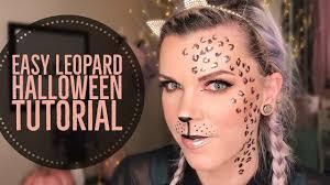 easy leopard halloween makeup tutorial sc 1 st you