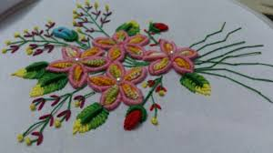 Facebook Embroidery Designs Hand Embroidery Designs Double Cast On Bullion Knot Creton Stitches Tutorial
