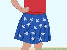 Wonder Woman Costume Pattern Awesome How To Make A Wonder Woman Costume With Pictures WikiHow