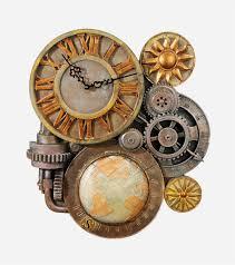 Designs by Style: Atlas Desk Clock Steampunk Decoration - Steampunk  Accessories