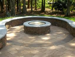diy patio with fire pit. Diy Patio Fire Pit With Pavers Outdoor Ideas