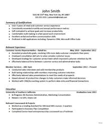 Resume For Cashier No Experience Unique Sample Resume For Retail