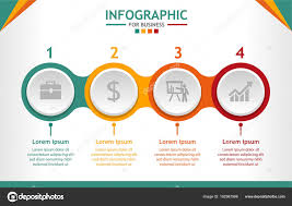 Business Infographic Template Steps Diagram Steps Business