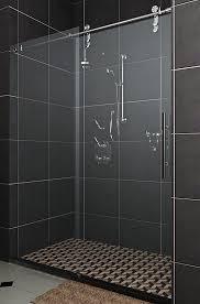 bathroom sliding glass shower doors. Sliding Shower Doors Frameless Bathroom Glass