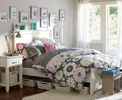 Bedroom Ideas For Teen Girls Cute Bed In Pink Sideboar Dressing