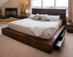 reclaimed wood king platform bed. Reclaimed Wood Platform Bed Drawers King F