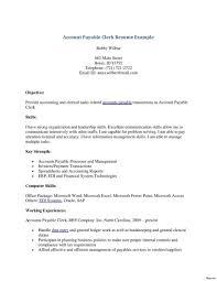 Generalfice Clerk Resume Examples Templates Stock Sample Endearing