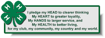 4 H Club Pledge