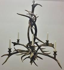antique black forest grand chandelier antler chandelier er lamp stag eagle