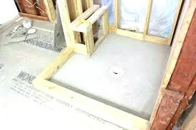 build a shower base how to build a shower building a shower base how build shower