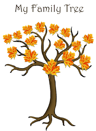 Blank Family Tree 4 Generations Family Tree Templates Genealogy Clipart For Your Ancestry Map