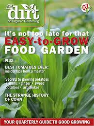 issue q3 the dirt on organic gardening