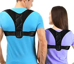 Econobum <b>Adjustable</b> Figure 8 Posture Corrector <b>Upper Back</b> ...