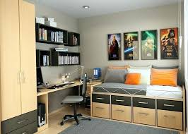 Office Bedroom Combination. Small Office Bedroom In Combination Design  Super Tiny . N