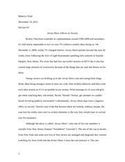 compare and contrast essay on drama tv vs reality tv rebecca definition essay defining reality tv 2 pages cause and effect essay on jersey shore effects on society